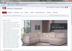 Moveis Herdeiro - Site Online
